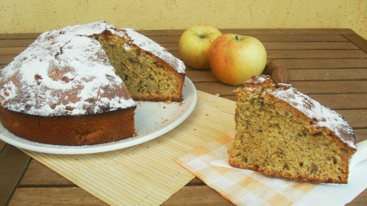torta di noci e mele (con o senza Bimby)