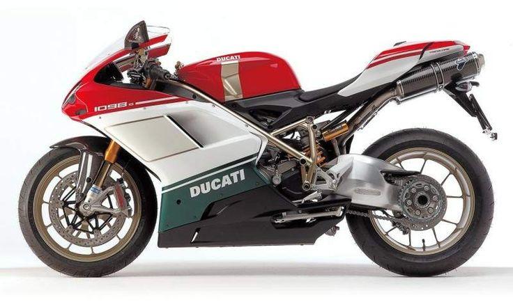 Ducati 1098 S Tricolor