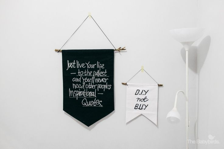 DIY Quote Banners