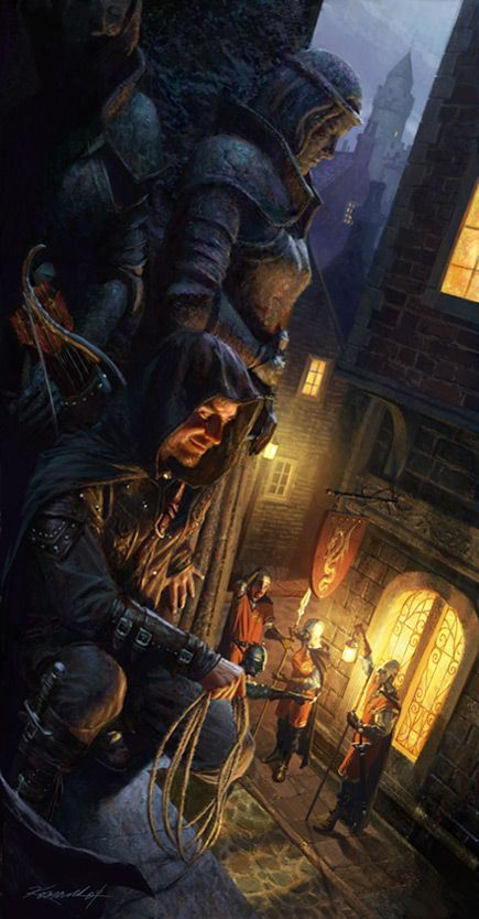Fantasy Book Cover Cliches : Best rpg characters human rogues thieves images on