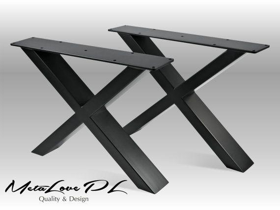 """15"""" IKSI 80.40 Bench Legs, Height 10"""" To 18"""" Set(2)"""