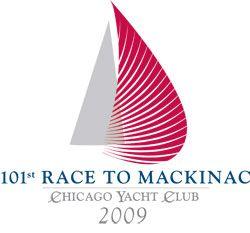 Chicago to Mackinac sailboat race logo - www.sailfastchicago.com