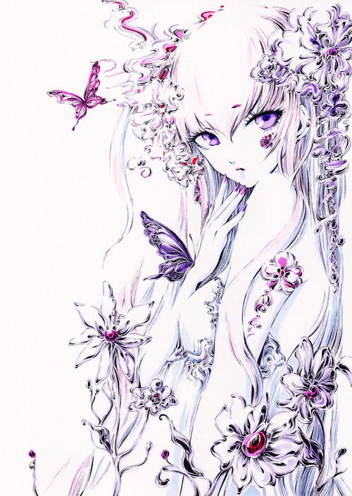 I like Butterflies; they make everything elegant.