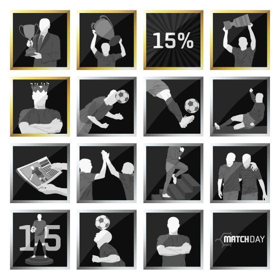 Afbeeldingsresultaat voor fifa achievements icons