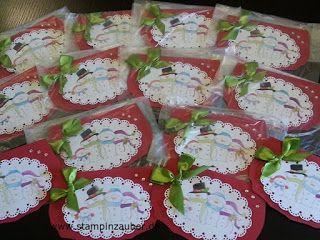 Weihnachtskarten von www.stampinzauber.de