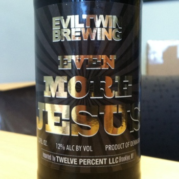 More Evil Twin...now with Even More Jesus!
