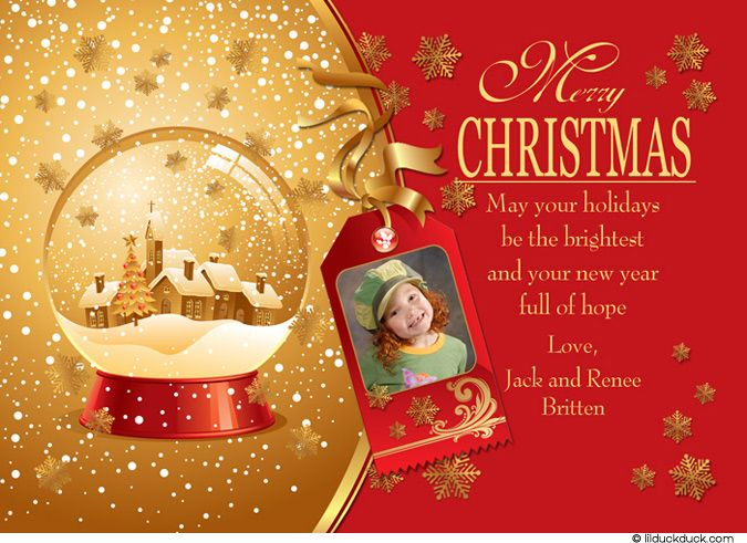 Merry Xmas 2014 Greeting Cards
