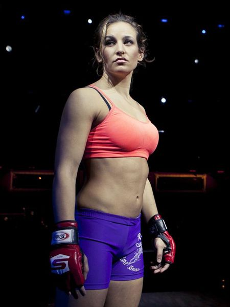 Miesha Tate - Visit CageCult for more #WMMA and #MMA inspired fashion designs…