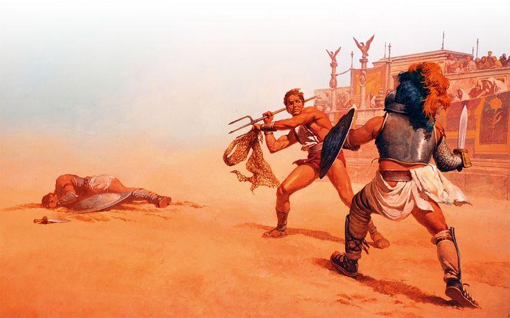 Gladiatoren horen bij Rome, maar wanneer ontstonden de gevechten in de arena?
