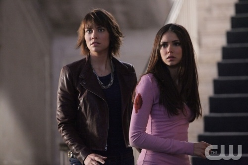 """""""Rose"""" - Lauren Cohan as Rose, Nina Dobrev as Elena in THE VAMPIRE DIARIES on The CW. Photo: Quantrell Colbert/The CW 2010 The CW Network, LLC. All Rights Reserved."""