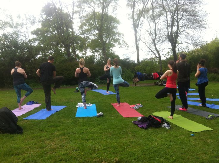 Inverleith Park Yoga & Picnic every Sunday 12pm #yoga #edinburgh