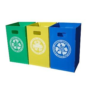 leroy merlin set raccolta differenziata eko box verde