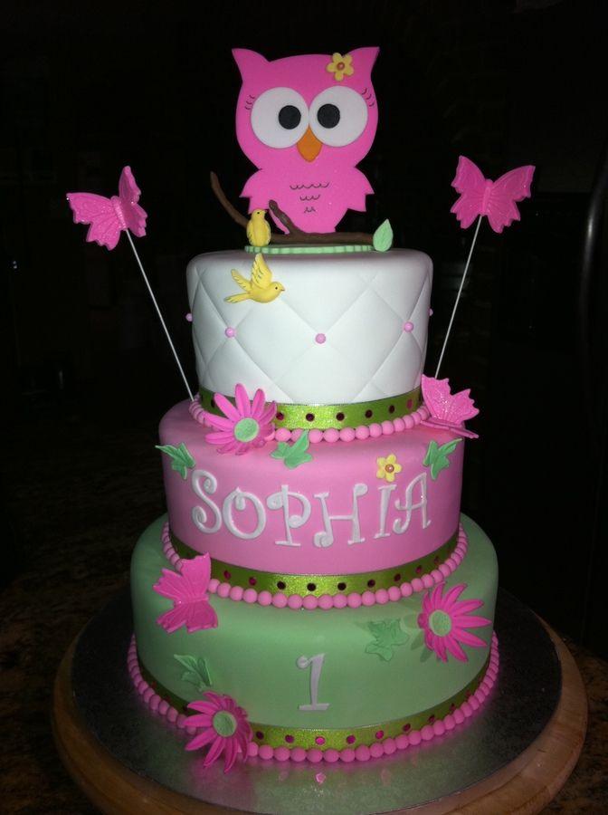 Owl Cake — Owl Cake Contest 2012