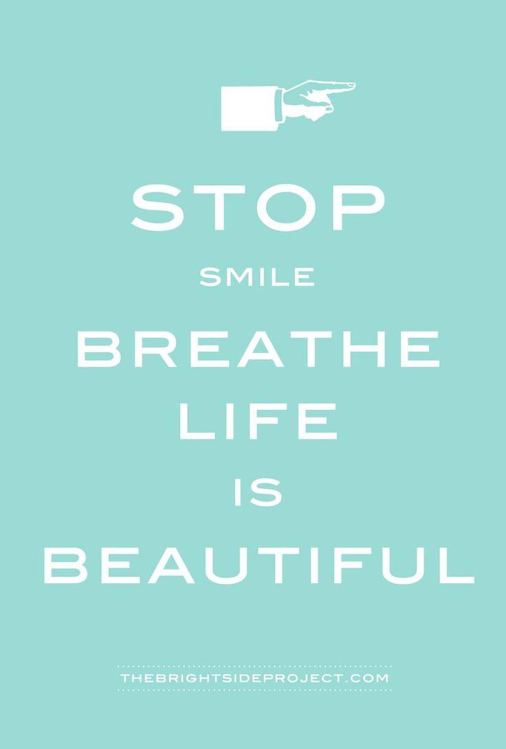 une carte à distribuer largement autour de vous !... aussi disponible dans un joli jaune ensoleillé... (arrête-toi, souris, respire : la vie est belle !)