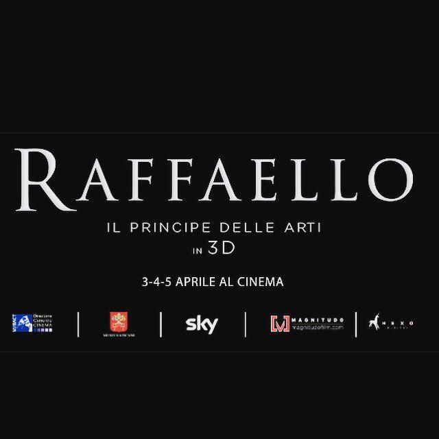 RT @CinziaGiorgio: @MiBACT @SkyArteHD @Magnitudofilm @Nexo_Digital @MuseiVaticani Che meraviglia! Non potrei mai mancare #Raffaello https://t.co/gh9SkrpXox