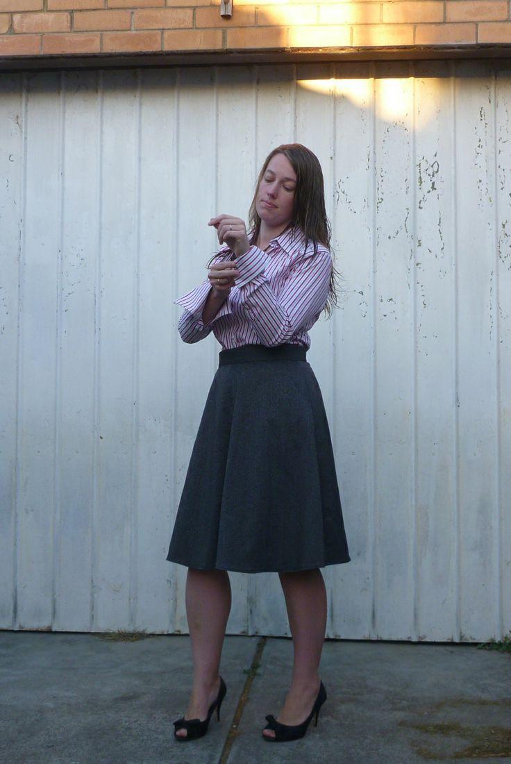 Hollyburn skirt -  sewaholic patterns