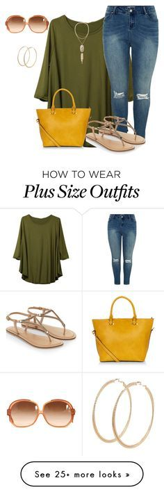 """""""plus size weekends"""" by kristie-payne on Polyvore featuring Accessorize, Kendra Scott, Forever 21, women's clothing, women, female, woman, misses and juniors"""