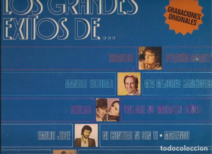 CAIXA DE CATALUNYA, GRANDES EXITOS, CUATRO LPS MUSICA VARIADA. RCA, BELTER, CBS