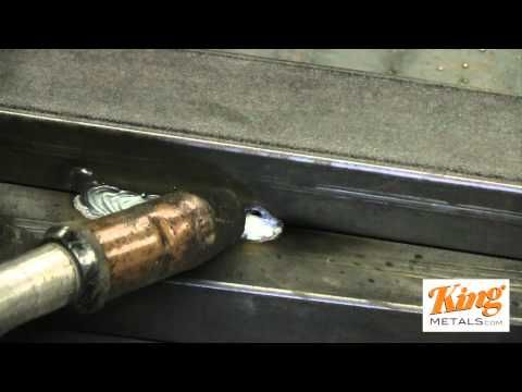 Learn how to mig weld like a pro! This easy technique can save you a lot of time and money.    Remember to subscribe to our channel for more great videos!    Visit www.kingmetals.com for great welding supplies on sale!