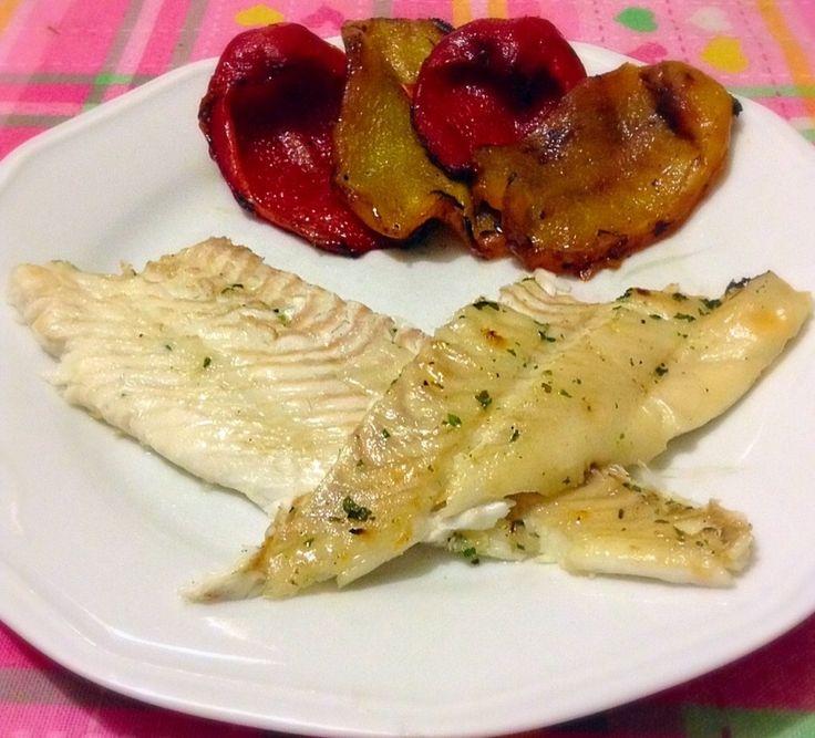 Ricetta Rombo arrosto con verdure