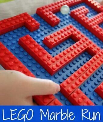Build you own Lego maze!
