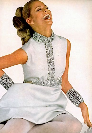 Lauren Hutton by David Bailey for Vogue US, 1967