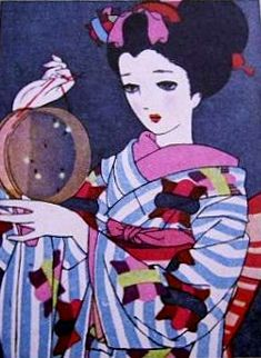 中原淳一 Junichi Nakahara (1913 - 1988), Kawaga Prefecture Junichi Nakahara was one of the top leaders in fashion illustration during the first half of the 1900's and his artwork of wide eyed women is often referred to as the forerunner of manga.