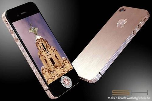 Feito pelo renomado designer Stuart Hughes, o Diamond Rose custa 5 Milhões de Euros...    http://www.webdig.com.br/13586/diamond-rose-iphone-5-milhoes-euros/
