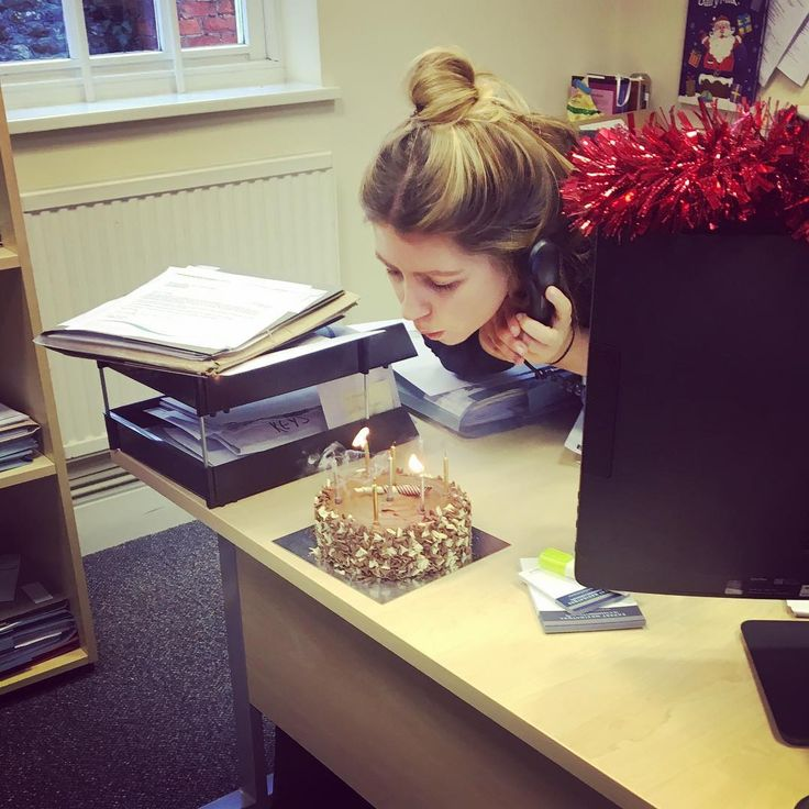 Celebrated a birthday in the office today! Happy Birthday to our Trainee Solicitor Rebekah! 🎈🎉🎂🎈 #birthday #birthdaycake #celebrations #manyhappyreturns #chippingsodbury #cluttoncox #conveyancing #friyay