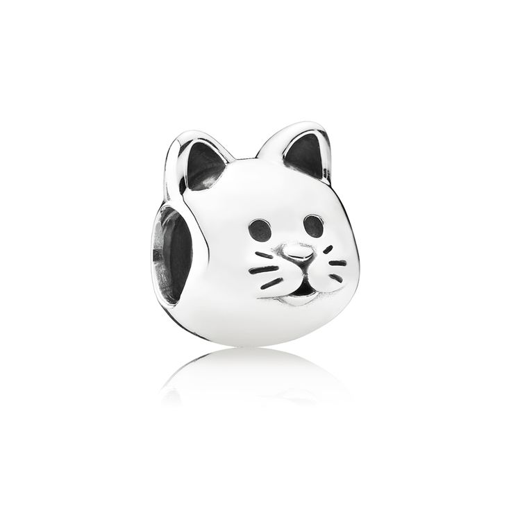 Curious Cat Charm - Pandora UK | PANDORA eSTORE