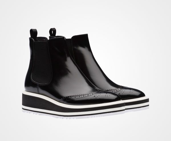 prada shoes history footwear unlimited boots for women