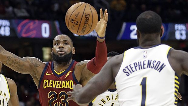 LeBron James Gets Slammed In The Nuts During Intense Game — Watch Painful Video https://tmbw.news/lebron-james-gets-slammed-in-the-nuts-during-intense-game-watch-painful-video  There's one word to describe what happened to LeBron James when the Cavs  played the Indiana Pacers: ouch! Lance Stephenson slapped LeBron hard in the crotch, which made King James collapse to the floor.Not cool, Lance Stephenson. Not cool. The 27-year-old Indiana Pacers star's hand somehow ended up in LeBron James 's…