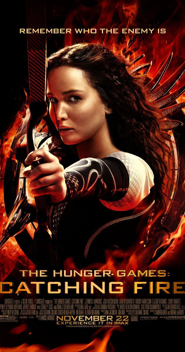 The Hunger Games: Catching Fire (2013)- One of my favorite movies all year. I figured it would be good but it was better than I expected. A pleasant surprise. Definitely a need to see.