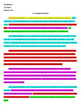 best teaching images students the o jays and  this colored coded essay is a must use when teaching students how to organize an essay