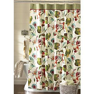 Watercolor Tropics Shower Curtain From Through The Country Door®