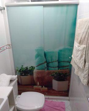 2f737b8512f69 Adesivo para box de banheiro  35 fotos para te ajudar a renovar o cômodo