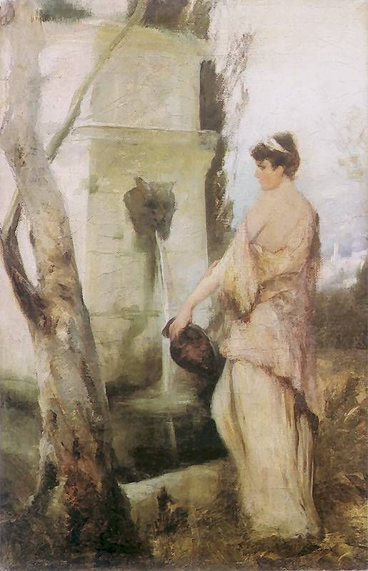 At the well - Henryk Siemiradzki  1889