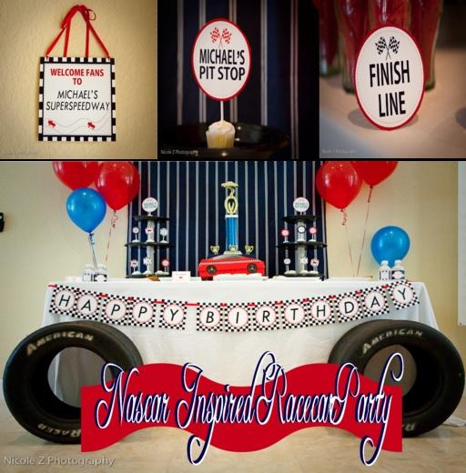 nascar themed birthday cakes