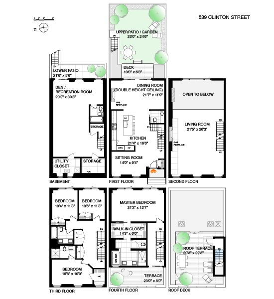 29 Best Images About Townhouse Floor Plans On Pinterest