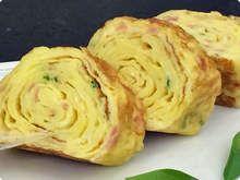 Omelete Japonesa! Essa delícia pode levar o recheio que você desejar!