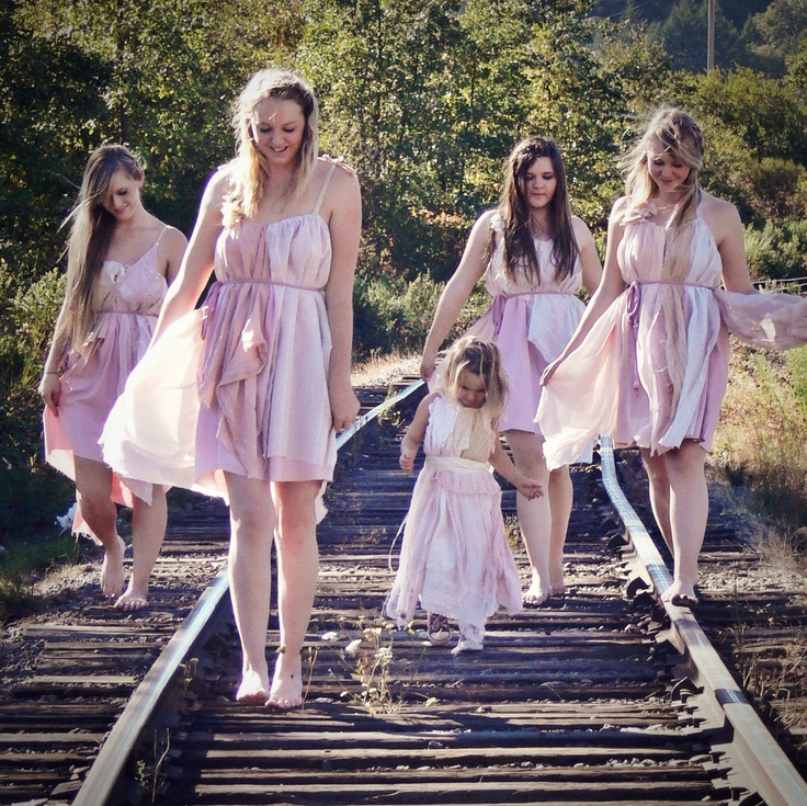 Non Traditional Wedding Dress Boho: Complete Set Hippie Wedding Four Blush Pink L.may