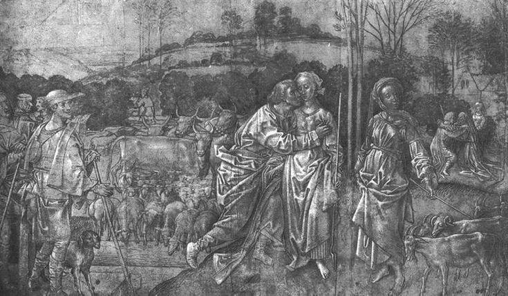 Jacob and Rachel, 1470 - 1475.
