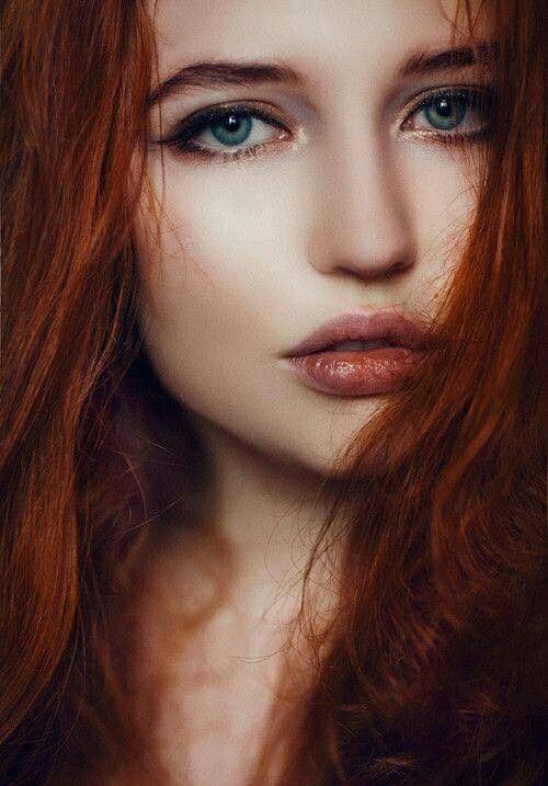 Rote haare grun tonen