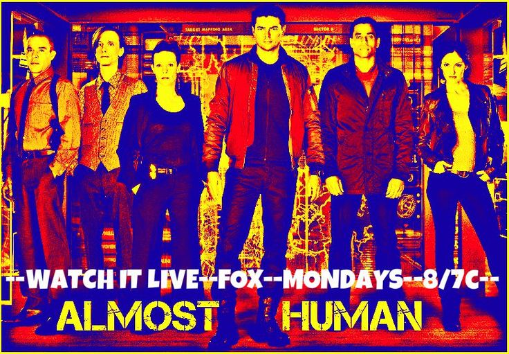 Almost Human Promo Pic By GodsGirl1989