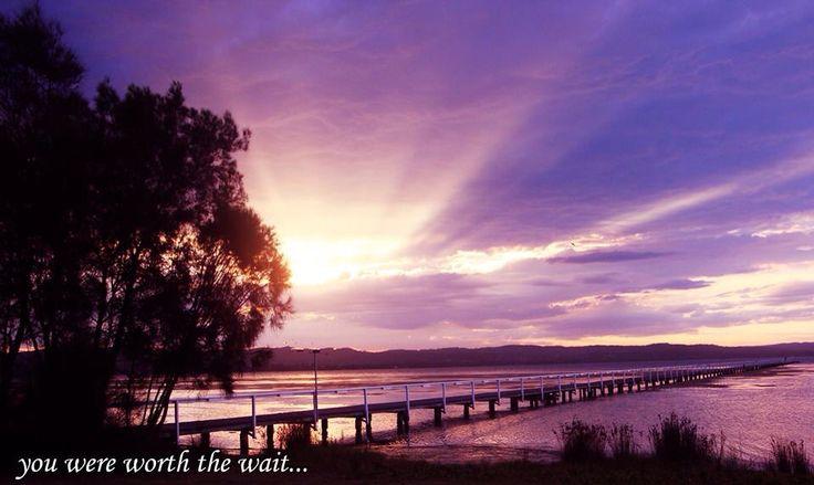 Beautiful sunset at Long Jetty #longjetty #sunset #beautiful #seeaustralia