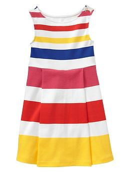 Ponte rainbow striped dress | GapGirls Clothing, Gap Kids, Kids Clothing Girls, Kids Nautical, Gap Ponte, Rainbows Stripes, Gap Clothing, Stripes Dresses, Ponte Rainbows