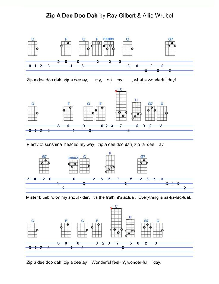 343 best Ukulele Sheet music images on Pinterest