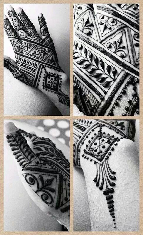 Moroccan inspired henna!