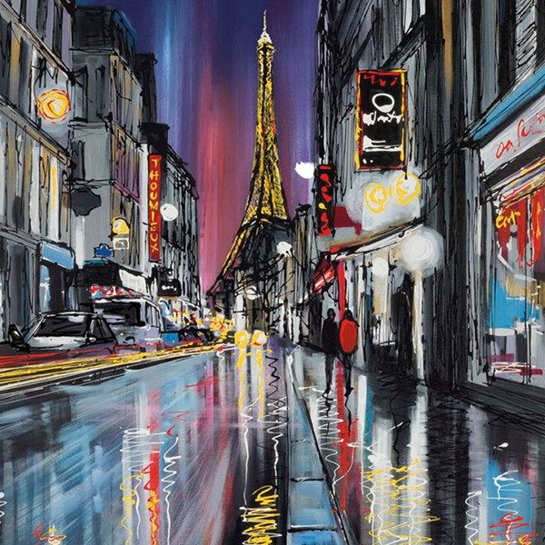 The Heart Of Paris by Paul Kenton - love this artwork.