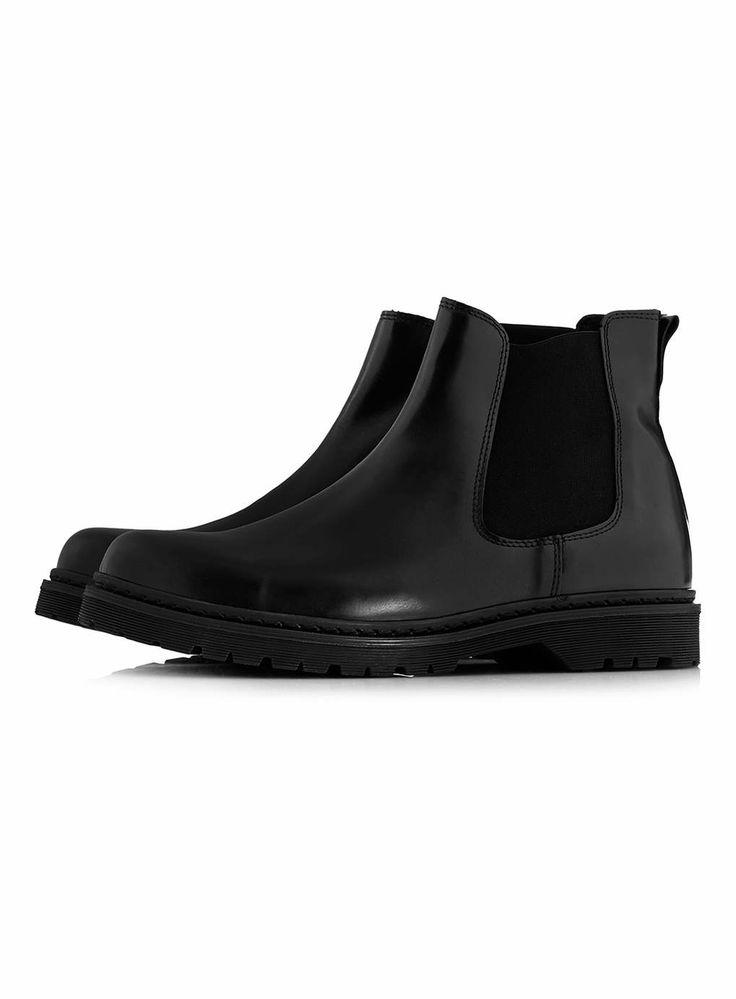 Topman chelsea boots